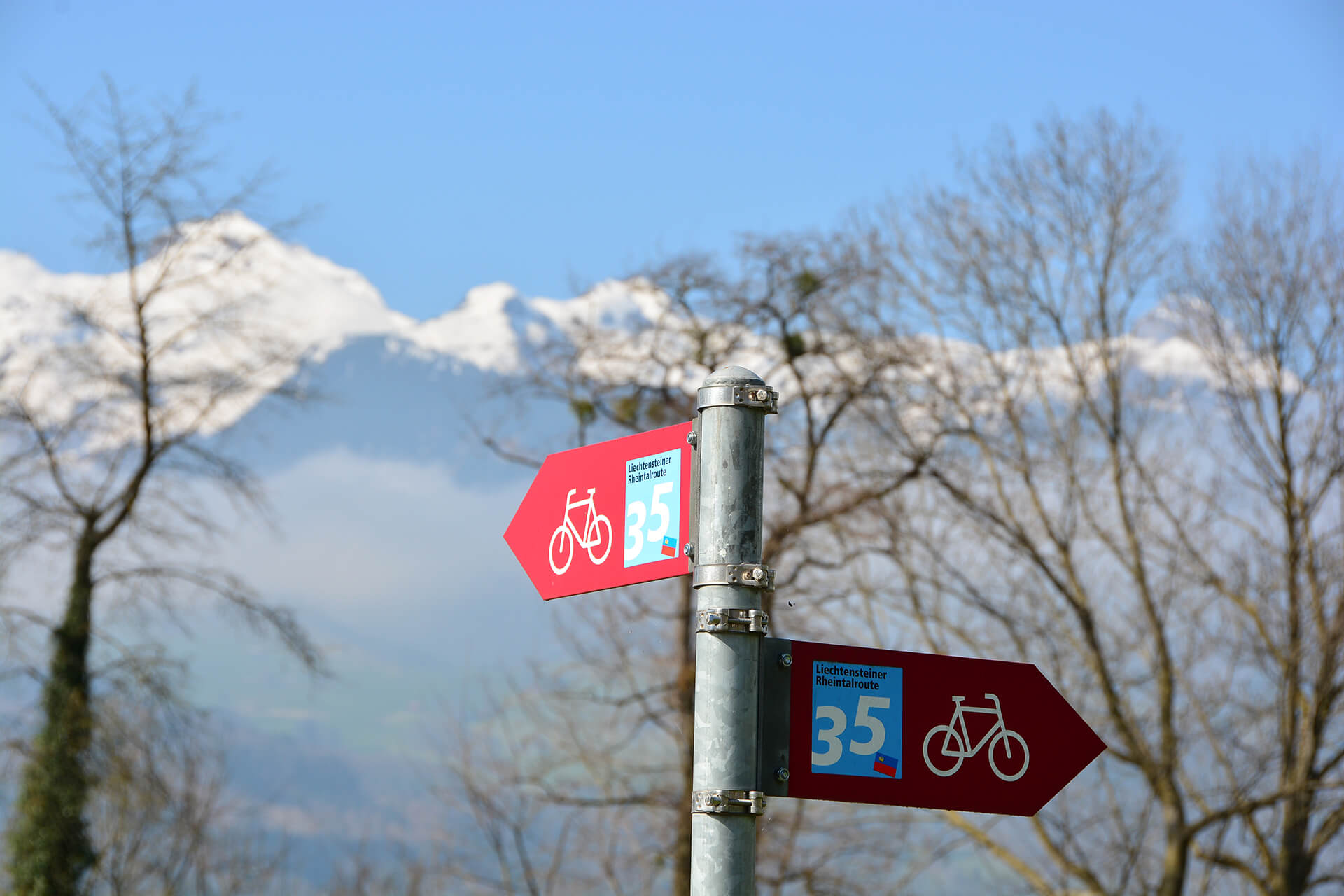 Radwege in Liechtenstein
